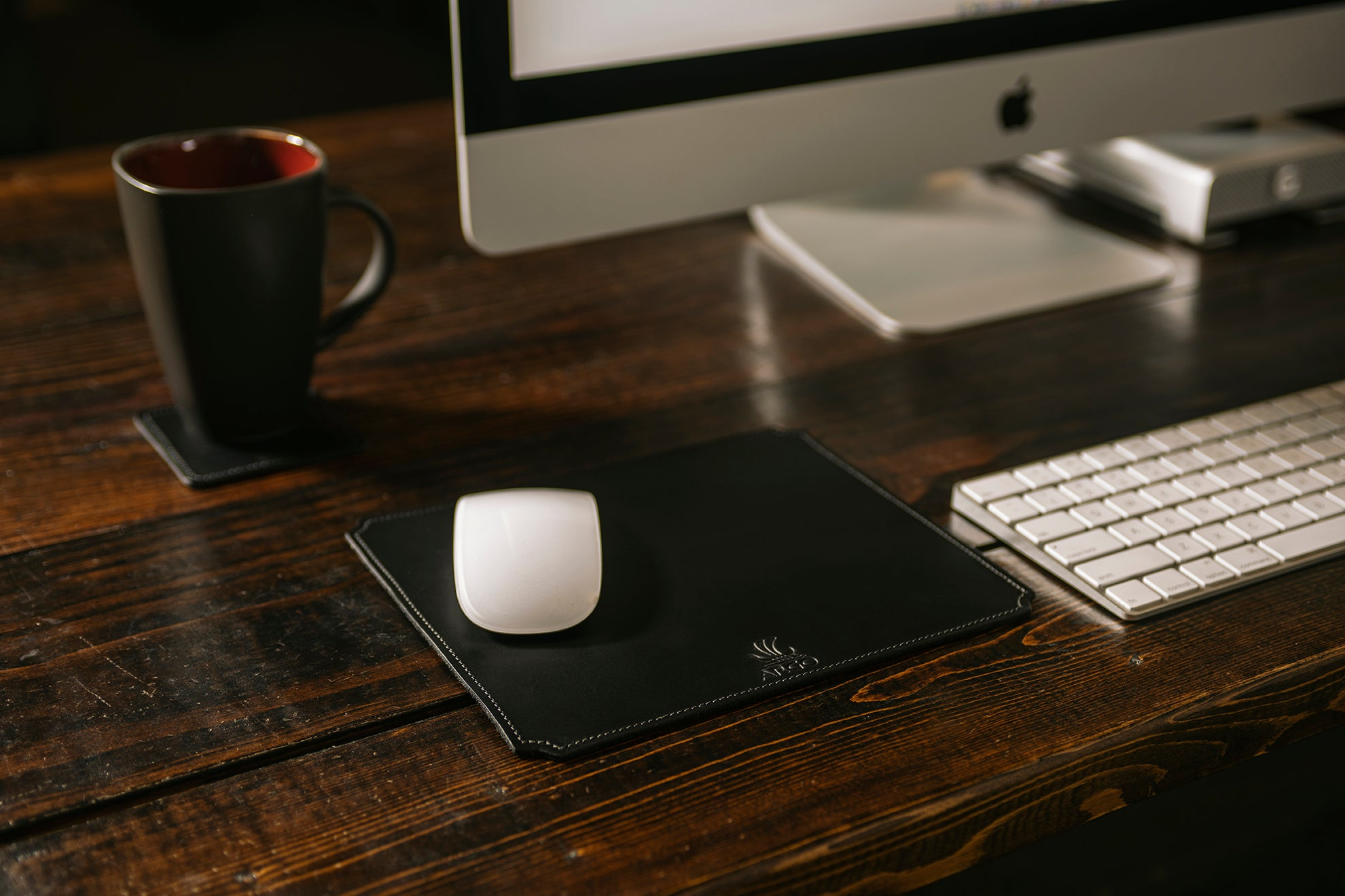 Small Mouse Pad - Midnight Black