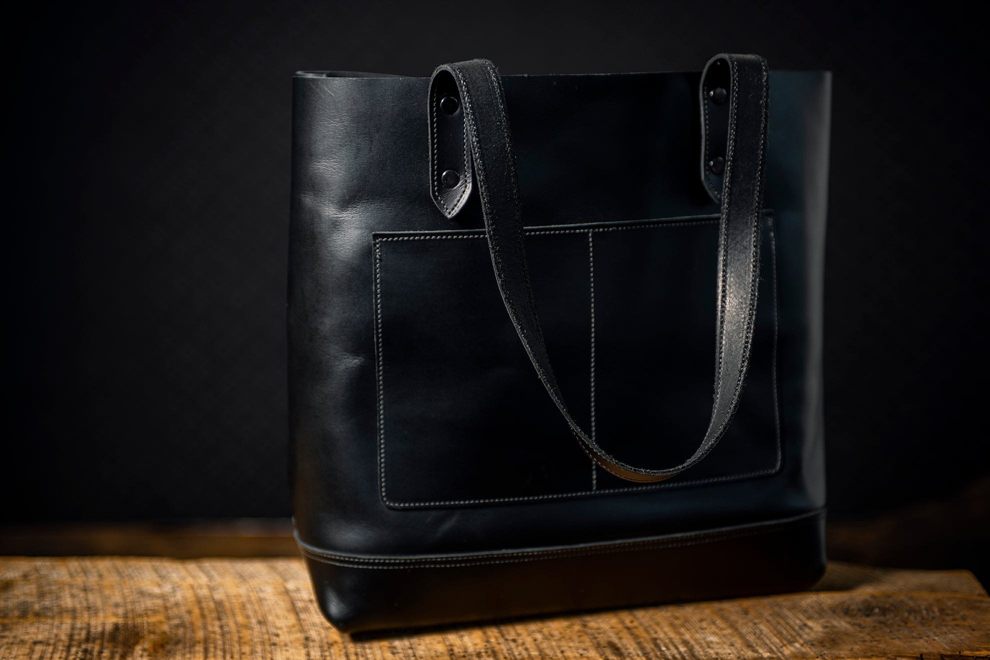 Medea Tote Bag - Midnight Black