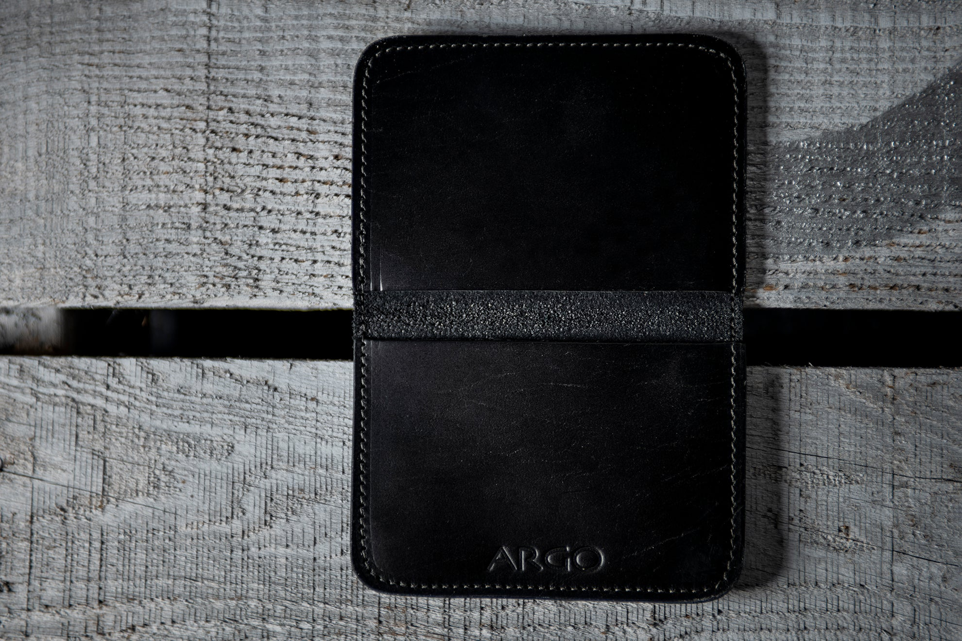 Slim Wallet - Midnight Black