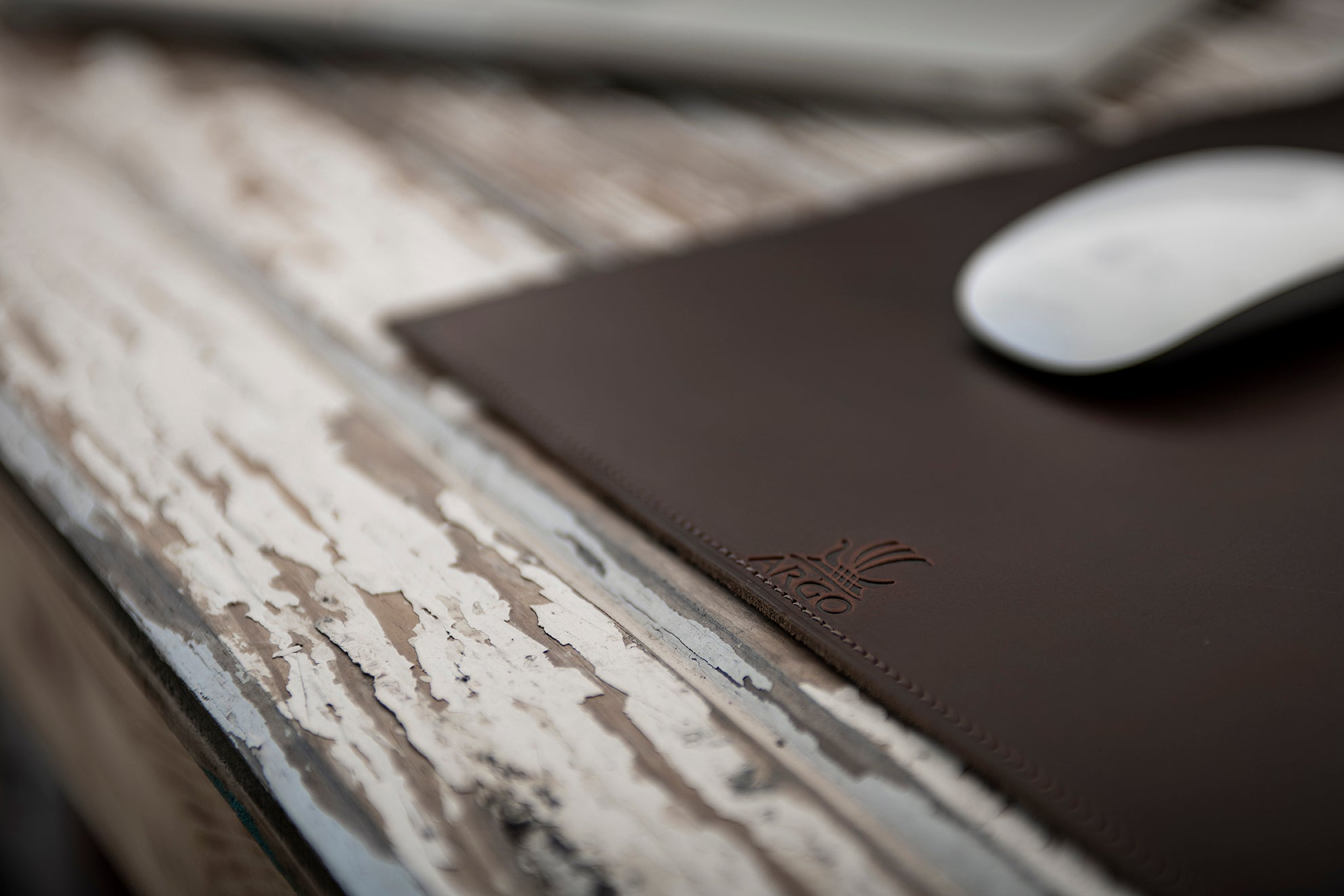 Mouse Pad - Copper Brown