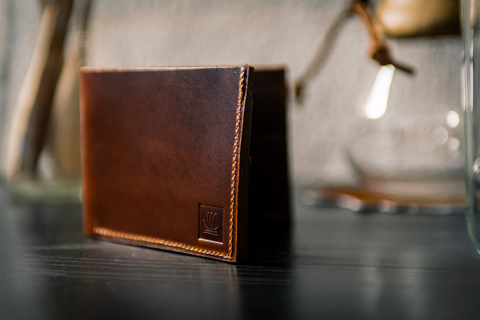 Bifold Wallet - Antique Tan
