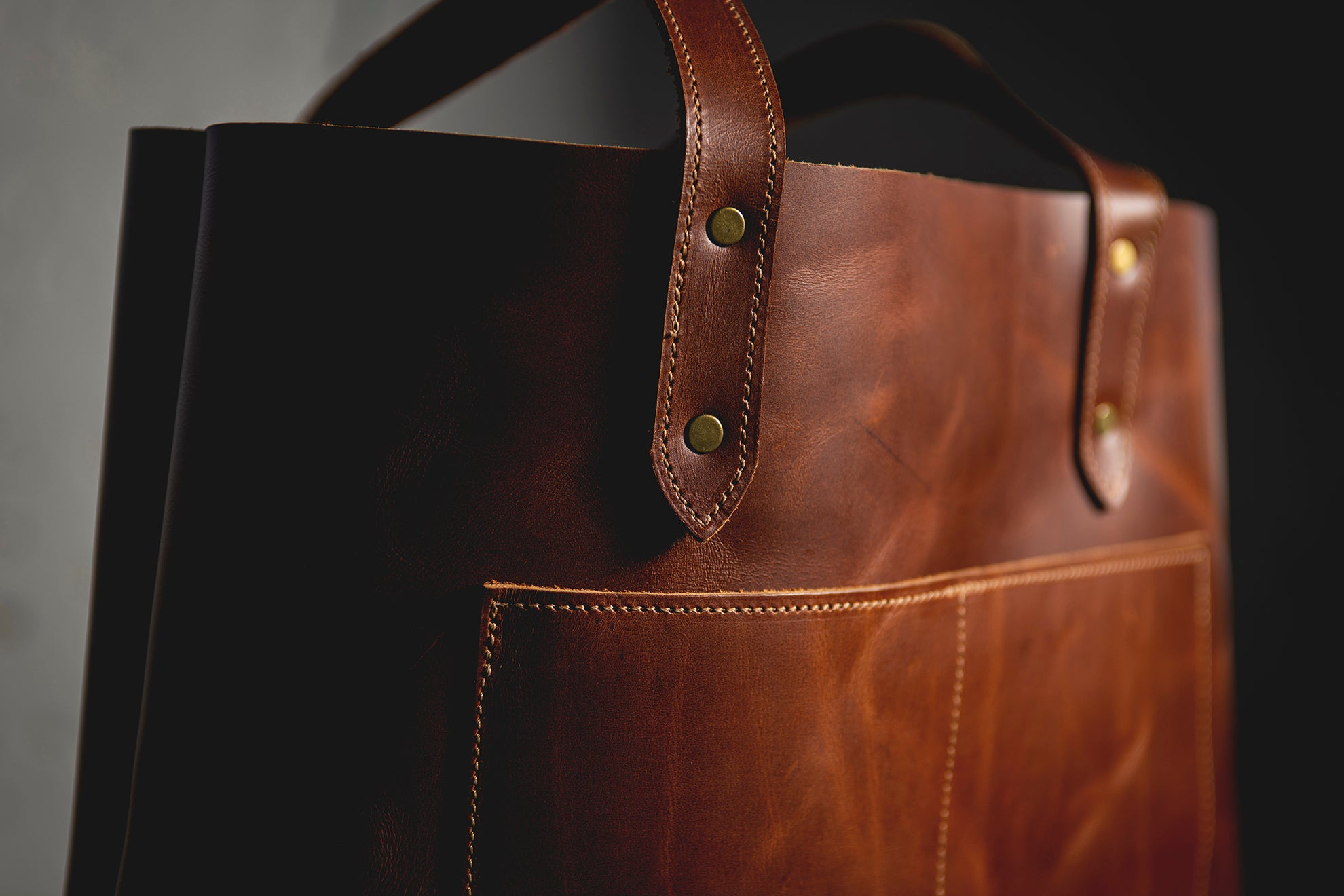 Medea Tote Bag - Antique Tan