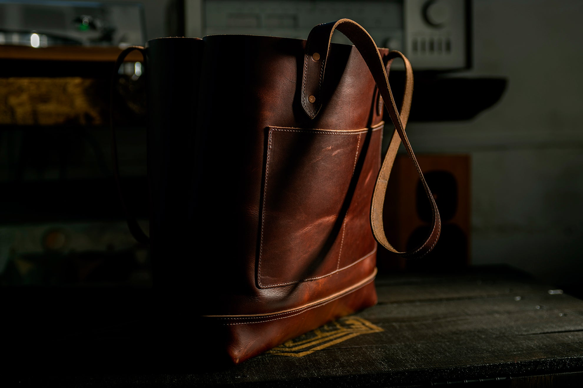 Medea Tote Bag - Copper Brown
