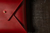 Envelope Clutch - Crimson