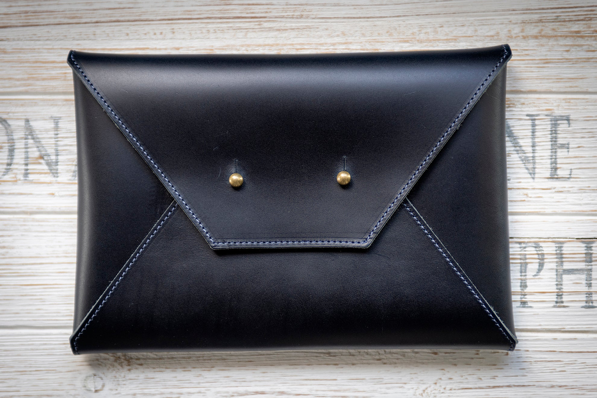 Envelope Clutch - Oxford Blue