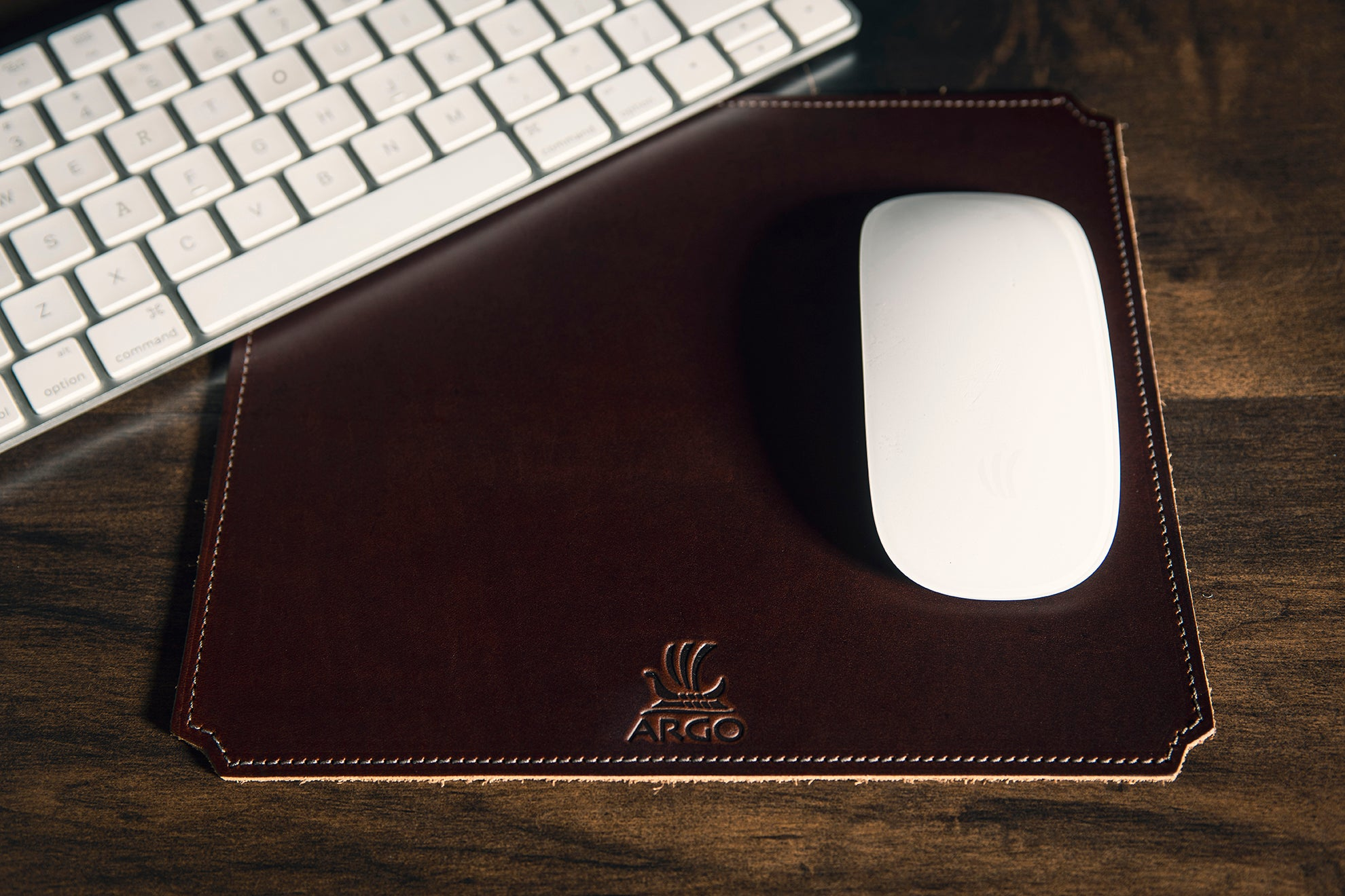 Small Mouse Pad - Copper Brown