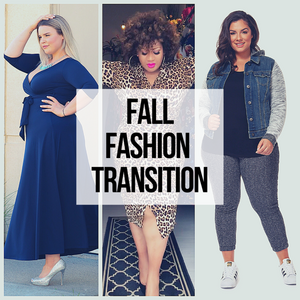 Transitioning to Fall Fashion in a Plus Size World