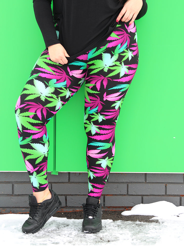 Maryjane Microfiber Plus Size Legging