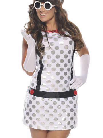 Miss Mod Plus Size Costume