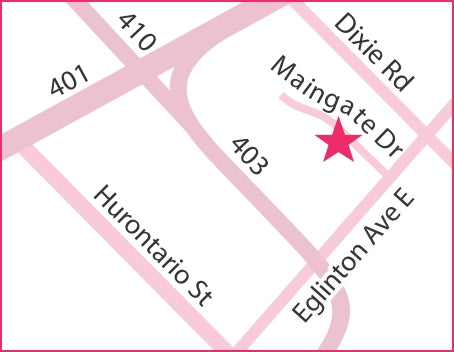 Map to our store