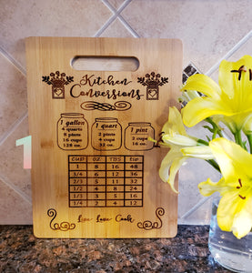 Kitchen Conversions Bamboo Cutting Board 9x12