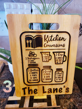 Load image into Gallery viewer, Kitchen Conversions Bamboo Cutting Board 9x12