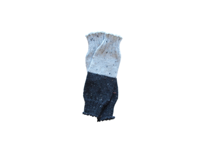 Black + Grey Legwarmers--LAST ONE!
