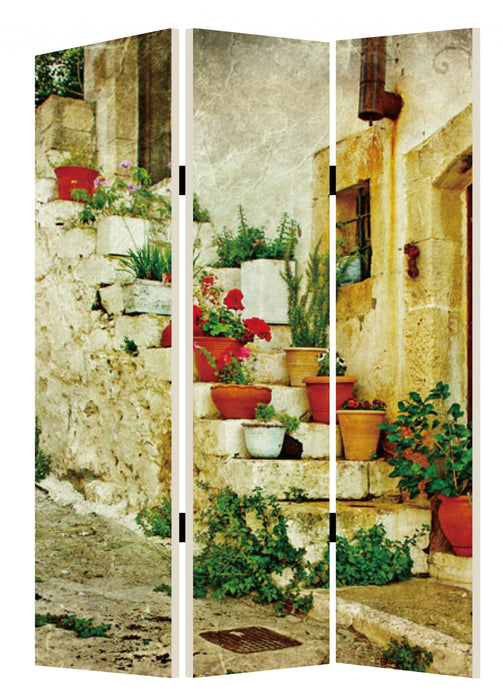 "HomeRoots 1"" x 48"" x 72"" Multi-Color, Spanish, Tidings - Screen"