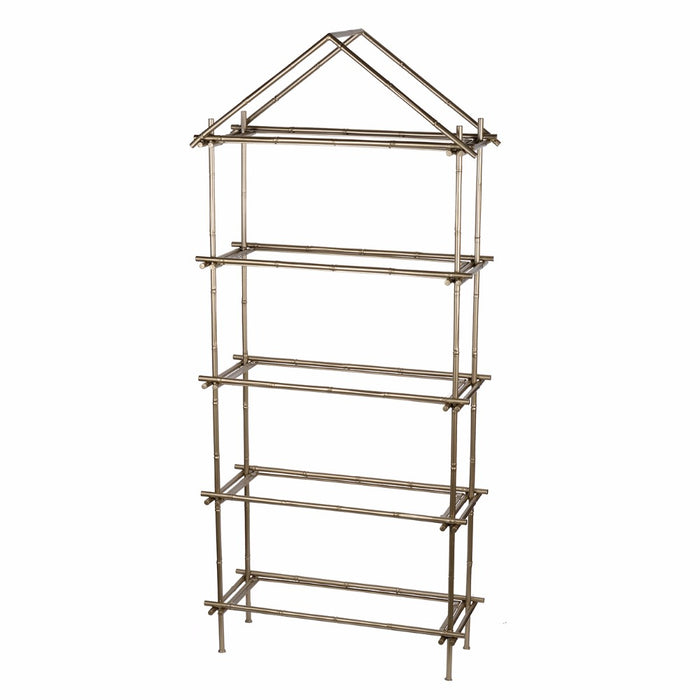 HomeRoots Office Magnificently Crafted Bamboo Etagere