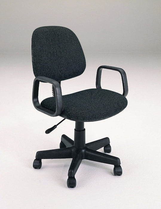HomeRoots Office Office Chair with Pneumatic Lift, Black