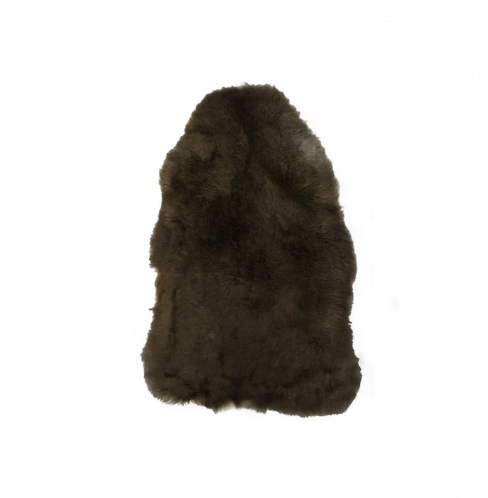 "HomeRoots 24"" x 36"" x 1.5"" x 2"" Rusty Brisa Sheepskin Single Short-Haired - Area Rug"