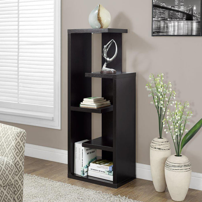 "HomeRoots Office 12"" x 18'.5"" x 47'.25"" Cappuccino - Display Unit"