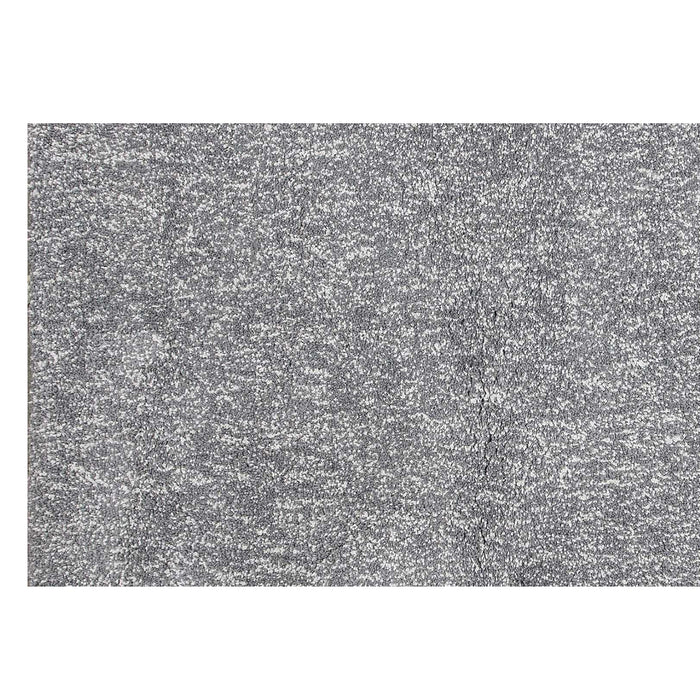 "HomeRoots 2'3"" x 7'6"" Runner Polyester Grey Heather Area Rug"