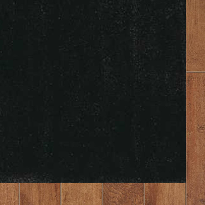 "HomeRoots 2'3"" x 7'6"" Runner Polyester Espresso Area Rug"