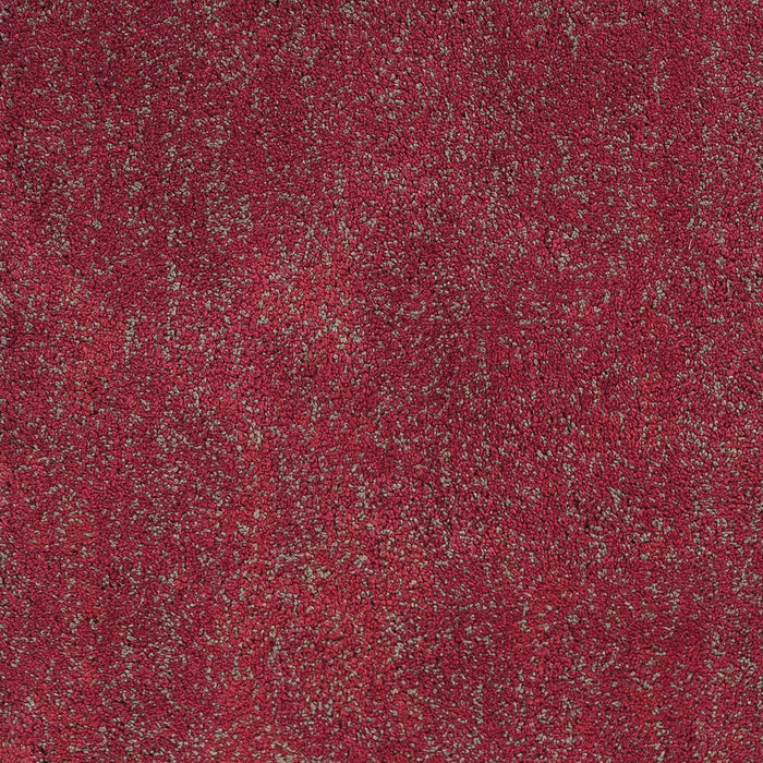 "HomeRoots 3'3"" x 5'3"" Polyester Red Heather Area Rug"
