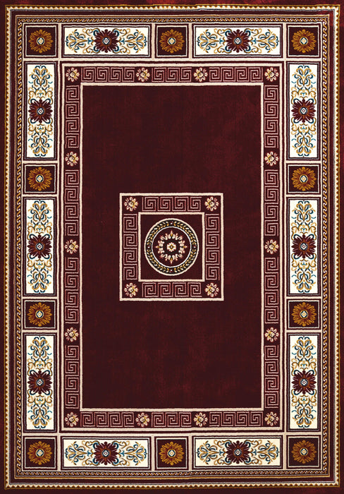 "HomeRoots 27"" x 86"" x 0.39"" Ruby Runner Rug"