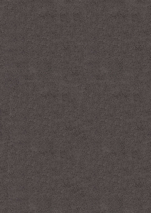 "HomeRoots 6 x 86"" x 1.2"" Grey Olefin Area Rug"
