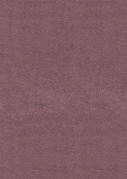 "HomeRoots 6 x 86"" x 1.2"" Plum Olefin Area Rug"