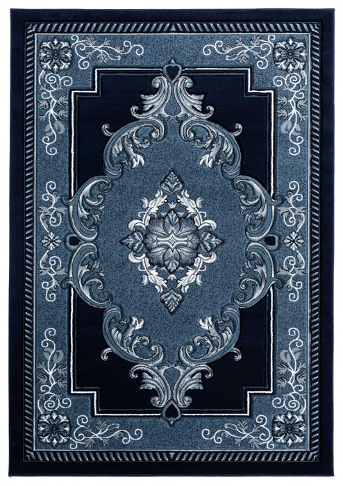 "HomeRoots 22"" x 32"" x 0.53"" Nave Olefin/Polypropylene Accent Rug"
