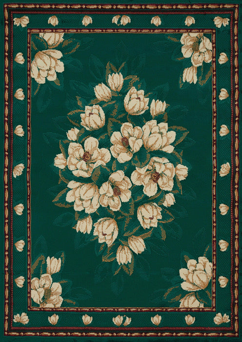 "HomeRoots 22"" x 36"" x 0.3"" Hunter Polypropylene Accent Rug"