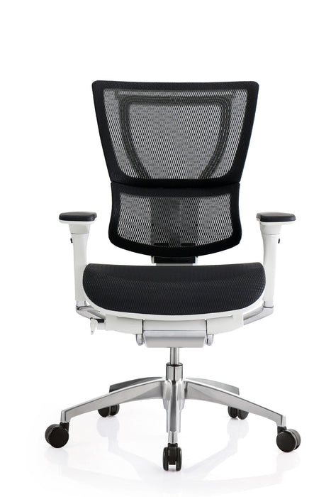 "HomeRoots Office 26"" x 26"" x 40.8"" White Mesh Tilt Tension Control Chair"