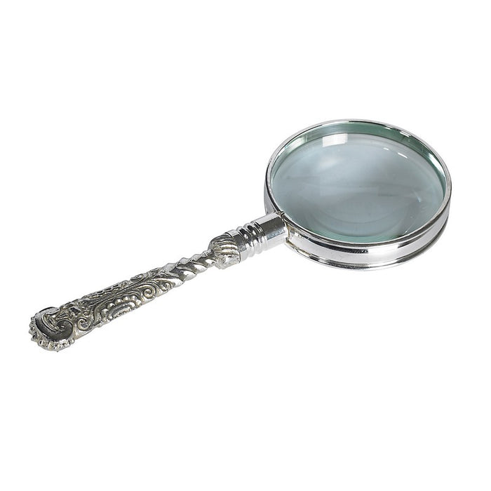 Authentic Models Americas Rococo Magnifier, Silver