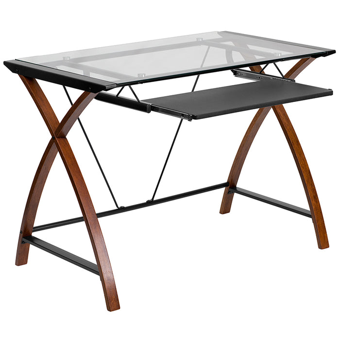 Atlanta Furniture Co. Glass Desk