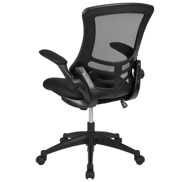 Atlanta Furniture Co. Black Mid-Back Task Mesh Chair