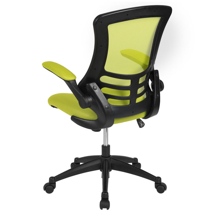 Atlanta Furniture Co. Green Mesh Mid-Back Desk Chair