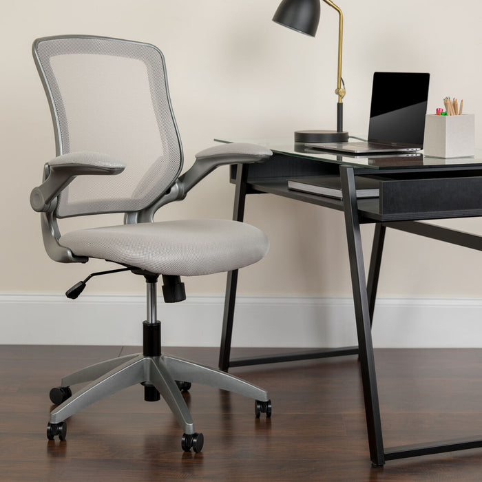 Atlanta Furniture Co. Gray Mid-Back Task Chair