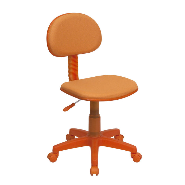 Atlanta Furniture Co. Orange Low Back Task Chair