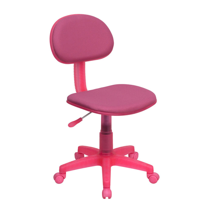 Atlanta Furniture Co. Pink Low Back Task Chair