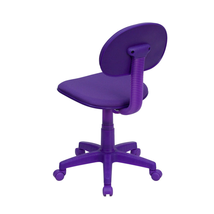 Atlanta Furniture Co. Purple Low Back Task Chair