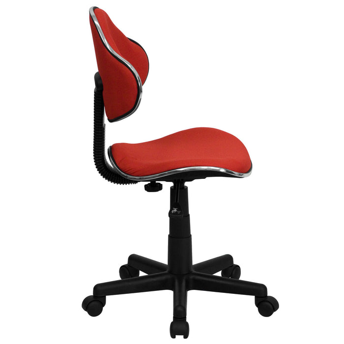 Atlanta Furniture Co. Red Low Back Task Chair
