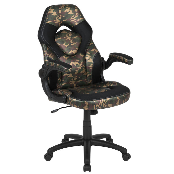 Atlanta Furniture Co. Camouflage Racing Gaming Chair