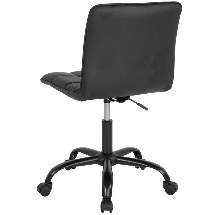 Atlanta Furniture Co. Black Leather Task Chair