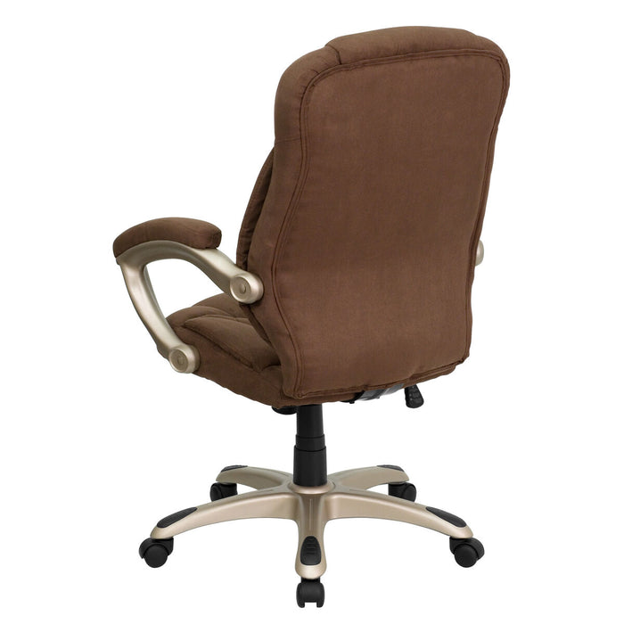 Atlanta Furniture Co. Brown High Back Chair