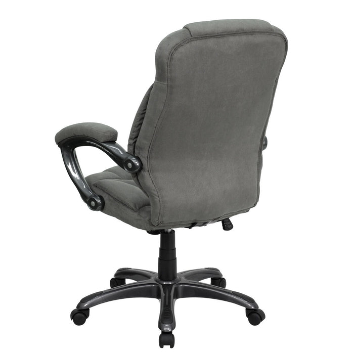 Atlanta Furniture Co. Gray High Back Chair