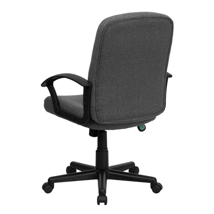 Atlanta Furniture Co. Gray Mid-Back Fabric Chair