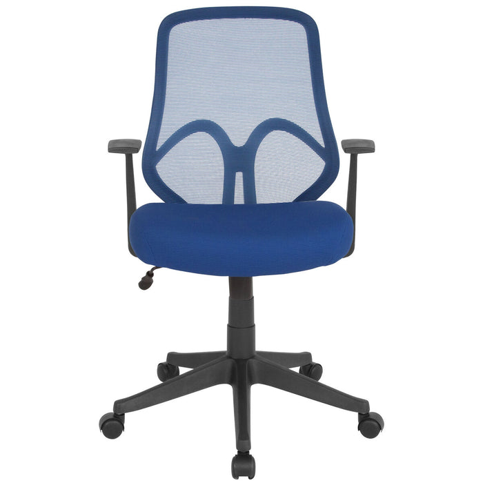 Atlanta Furniture Co. Navy High Back Mesh Chair