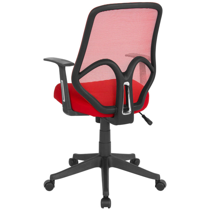 Atlanta Furniture Co. Red High Back Mesh Chair