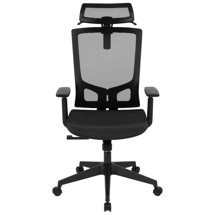 Atlanta Furniture Co. Black Mesh Office Chair