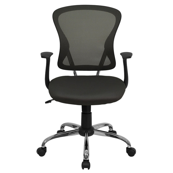 Atlanta Furniture Co. Dark Gray Mid-Back Task Chair