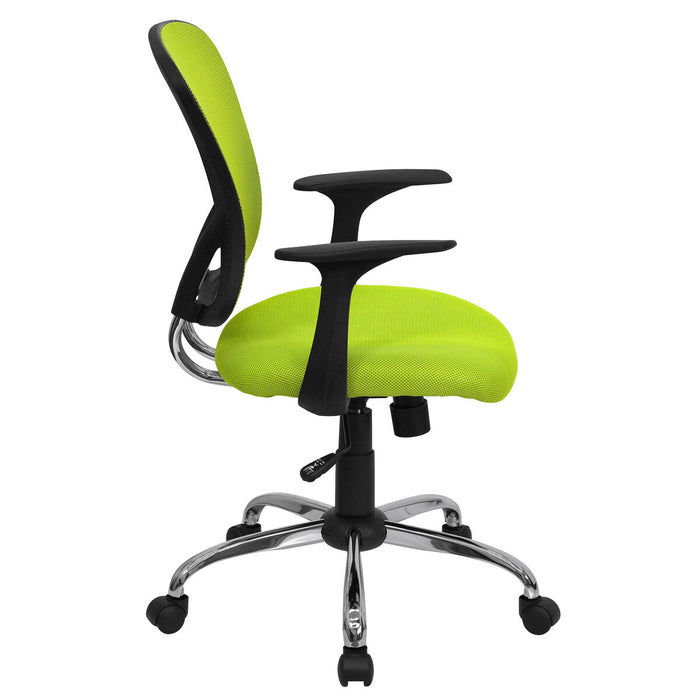 Atlanta Furniture Co. Green Mid-Back Task Chair